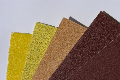 Developing a craft from sandpaper