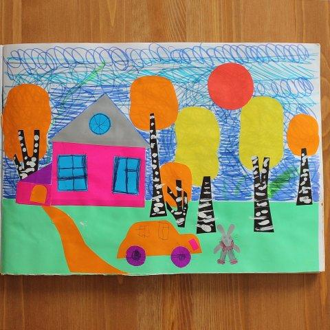 Картинка к занятию Сделайте тематический альбом «Осень» в Wachanga