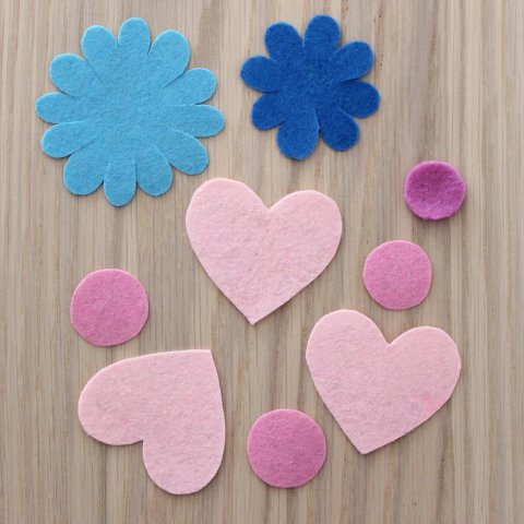 Activity picture for Bookmarks using Felt in Wachanga