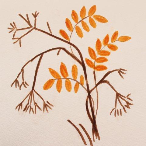 детское творчество для развития на тему осень