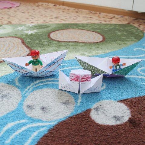 Займитесь вместе с ребенком оригами!