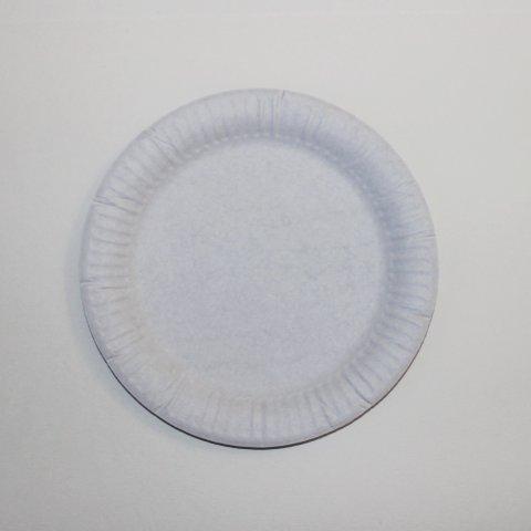 Картинка к занятию Мухомор из картонных тарелок в Wachanga