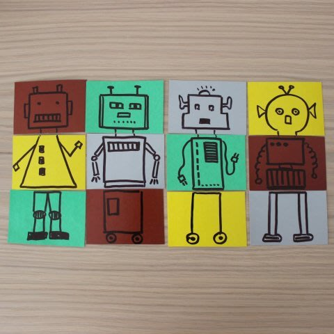 "Make ""Robot"" Puzzles"