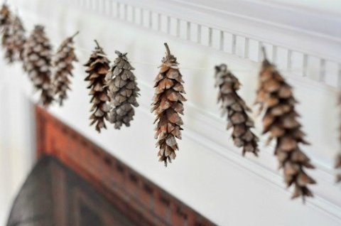 Activity picture for Garland of cones in Wachanga