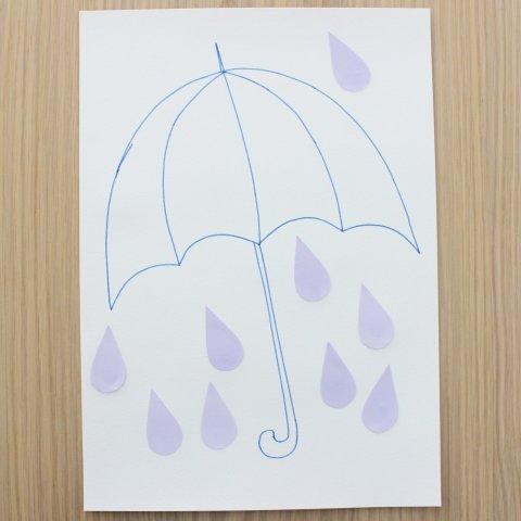 Картинка к занятию Разноцветный зонтик в Wachanga