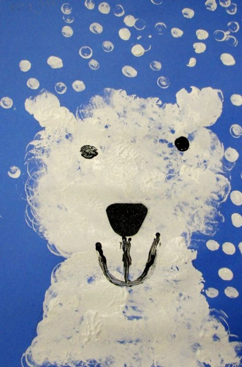 Картинка к занятию Белый медвежонок в Wachanga