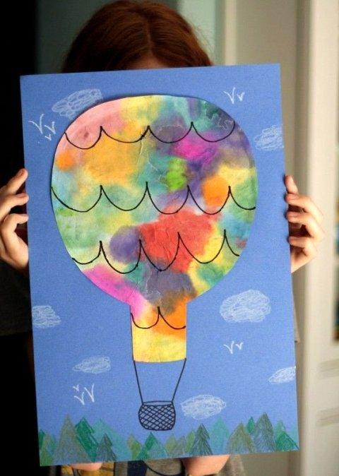 Картинка к занятию Воздушный шар в Wachanga
