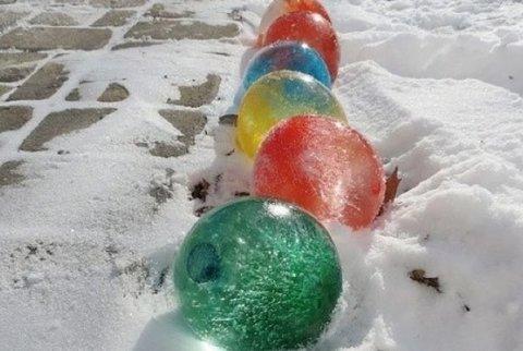 Картинка к занятию Ледяные шары в Wachanga