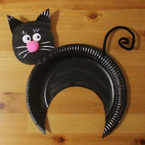 Картинка к занятию Черный кот в Wachanga