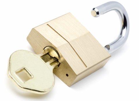 Поиграйте с замками и ключами