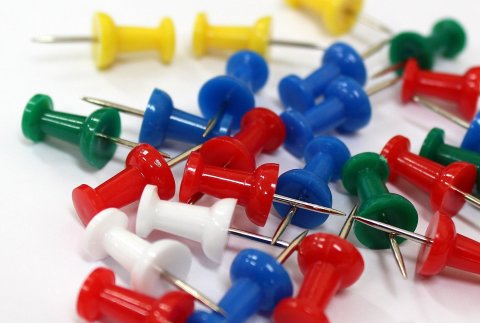 Games with pushpins
