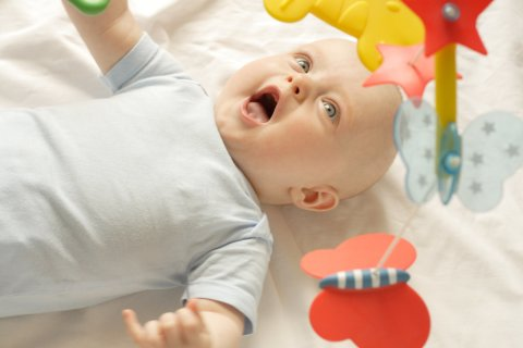 5 month old's sleep patterns