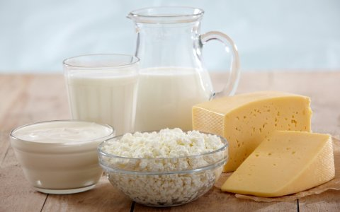 Dairy for breastfeeding Moms