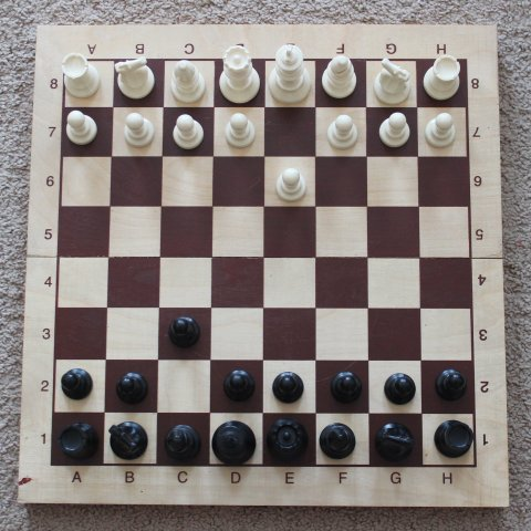 Play chess with your child
