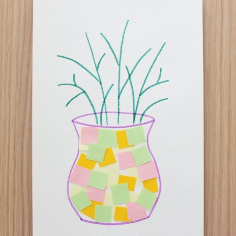"""Activity picture for Make the applique """"The Spring Bouquet"""" in Wachanga"""