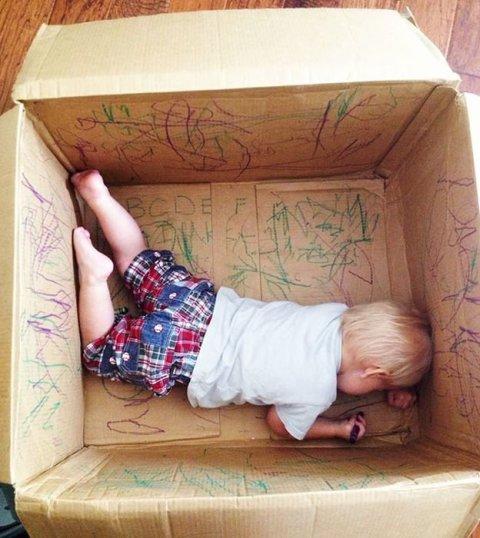 Картинка к занятию Пустая коробка в Wachanga