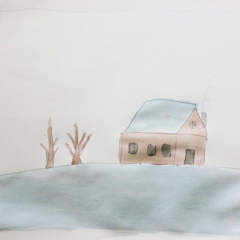 Картинка к занятию Рисуем картину акварелью и солью в Wachanga
