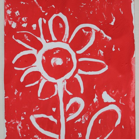 Create a monotype picture!