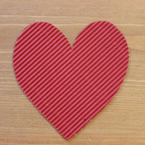заготовка из картона сердечко