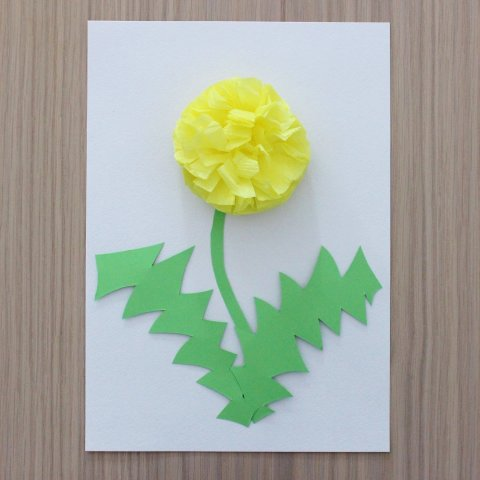 "Activity picture for An applique ""The Dandelion"" in Wachanga"