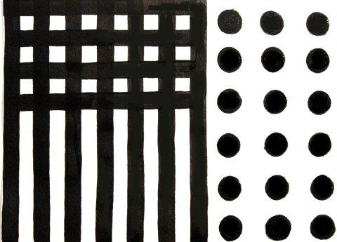 чёрно-белая картинка для малыша