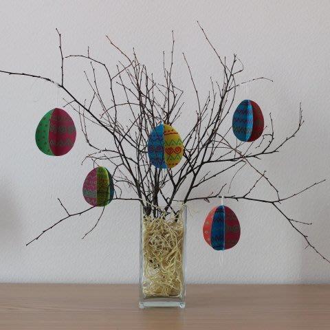 Make a pretty spring tree