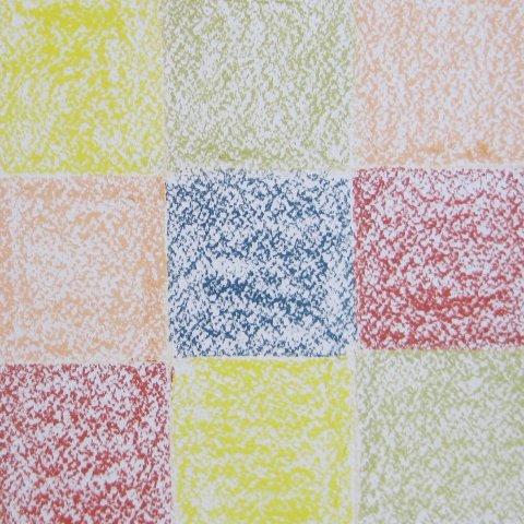 клетчатый плед пастелью этап 2