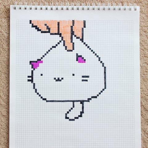 рисунок по клеточкам