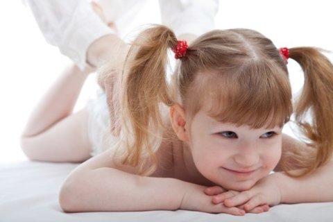 Комплекс массажа для малышей в 2,5-3 года