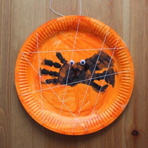 как вместе с ребенком сделать поделку на Хеллоуин