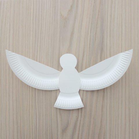 оригинальный голубь своими руками из простых материалов к 1 мая