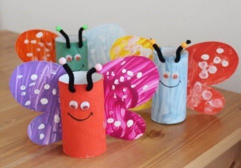 Make butterflies with your kid