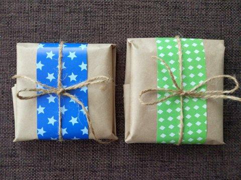 новогодняя упаковка своими руками