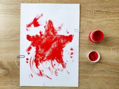 Картинка к занятию Красная звезда в Wachanga