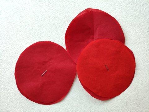 бумажные заготовки для гвоздик