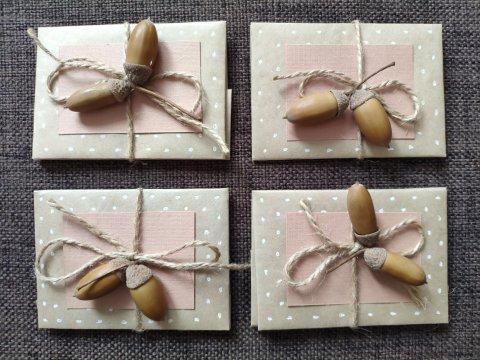 Картинка к занятию Осенняя упаковка подарков в Wachanga