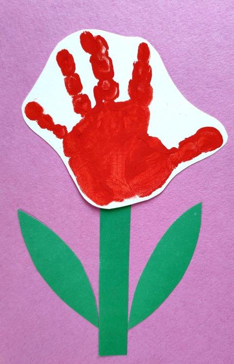Картинка к занятию Цветочек для мамы в Wachanga