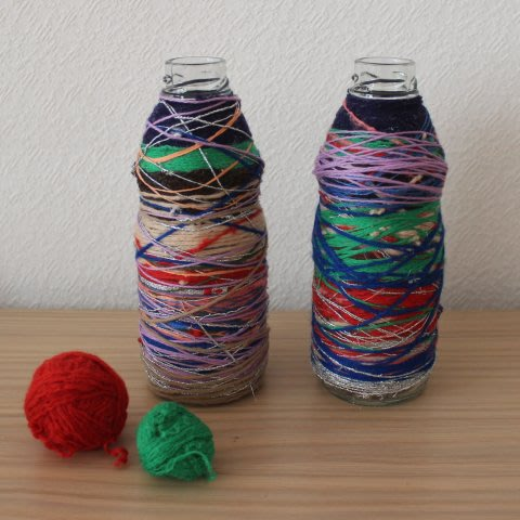 Activity picture for Decorate a bottle with threads in Wachanga