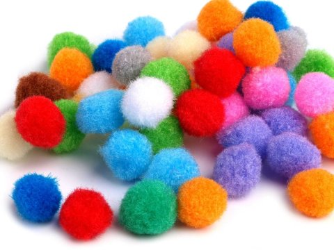 Activity picture for Play with tennis balls and pompons in Wachanga