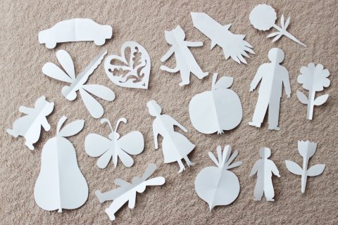 Activity picture for Paper Figurines in Wachanga