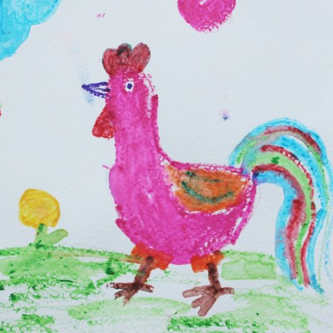новая техника рисования для детского творчества