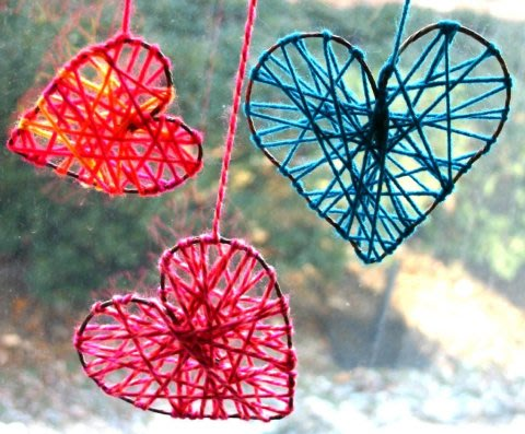Activity picture for Threaded Hearts in Wachanga