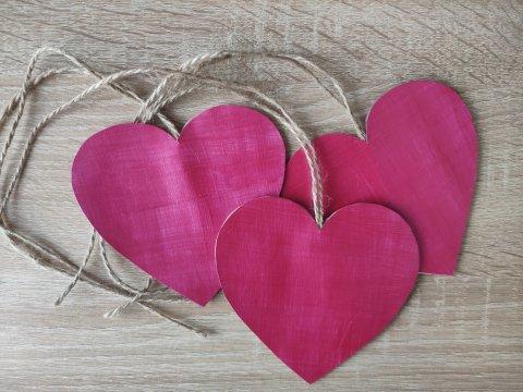 Картинка к занятию Сердечки из бумаги в Wachanga