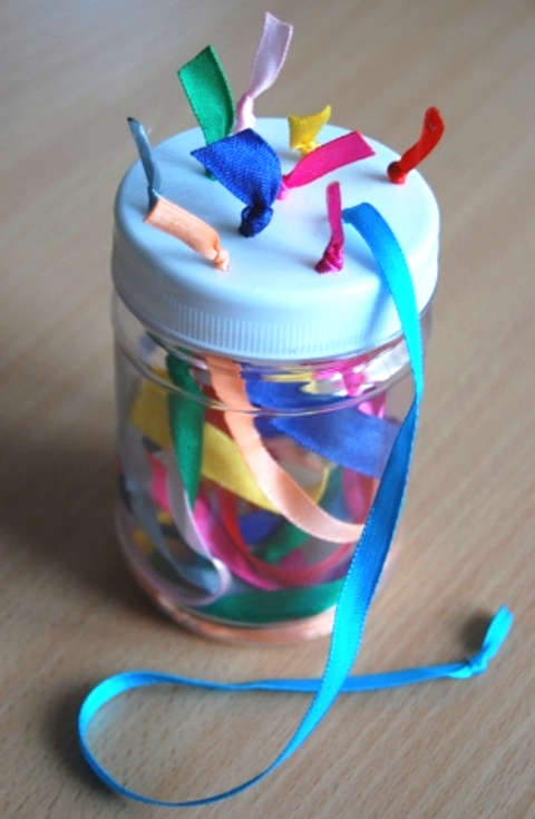 Activity picture for Jar of Ribbons in Wachanga