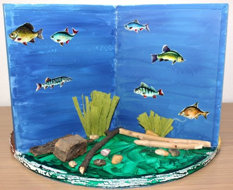 """Activity picture for Fascinating """"Underwater World"""" handmade by your child in Wachanga"""