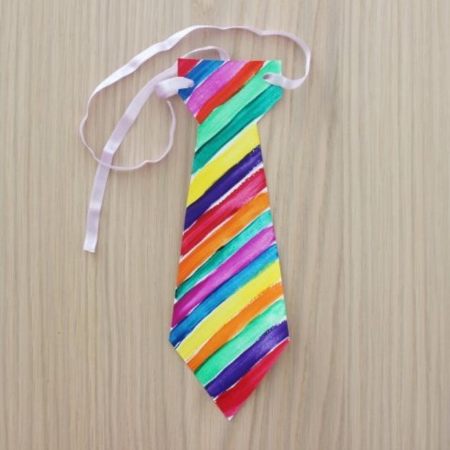 Полосатый галстук