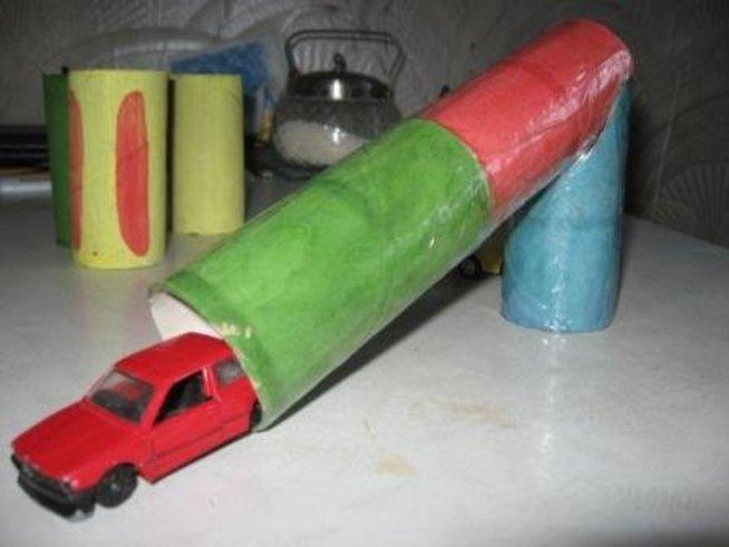 Туннель для машинки
