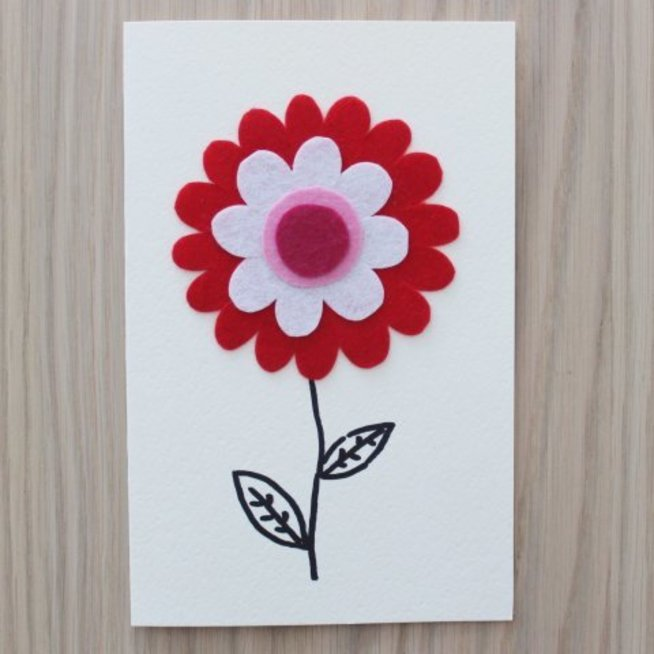 Make a greeting card with your kid