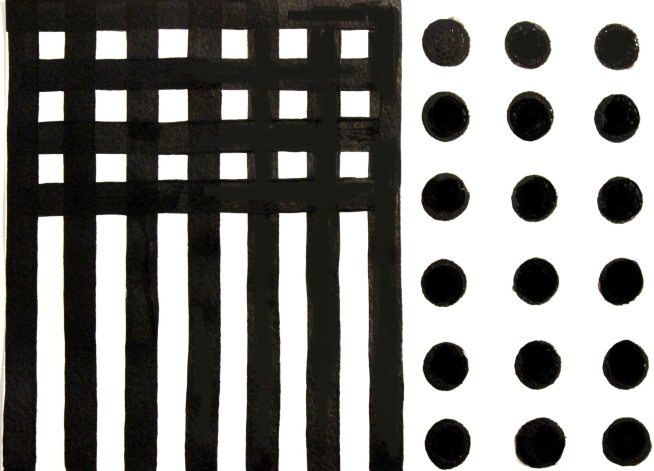 Чёрно-белые картинки для новорожденных