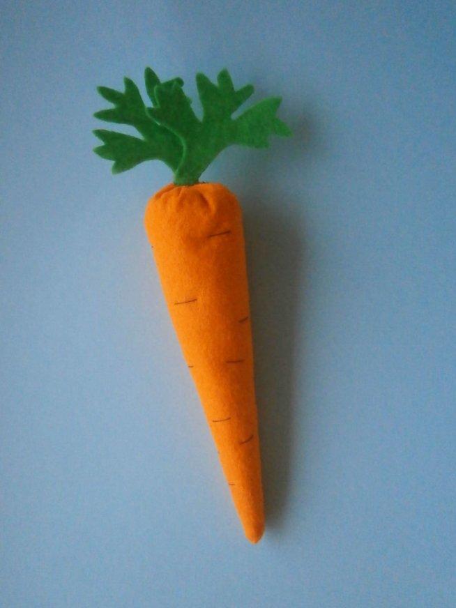 Мягкая морковка